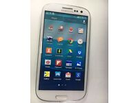 Samsung galaxy s3 GT-i9300 Smart Mobile phone unlocked. good condition white or black 16GB
