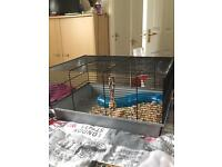 Small animal cage - for hamster or mouse