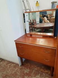 Brown Retro dressing table