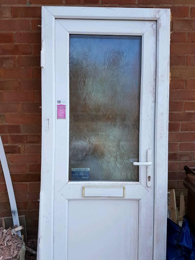 Upvc Door And Frame Free To Collect In Ivybridge Devon