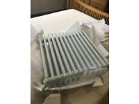 Contemporary 4 Column Radiator with Brackets 3500+ BTU Brand New Save £££