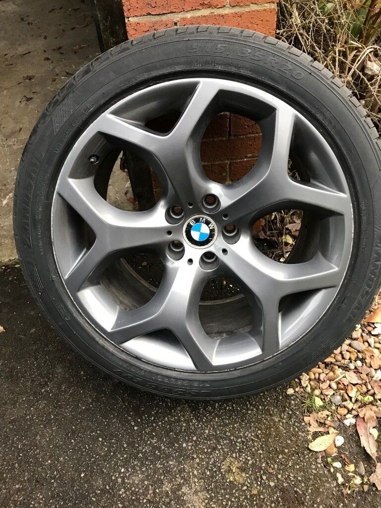 Excellent Genuine Bmw X5 X6 Style 214 Alloy Wheels 20 With