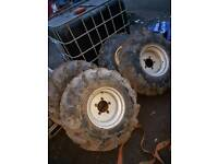 Dumper truck wheels