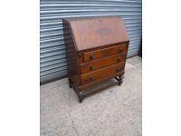 Vintage writing desk. Solid wood.