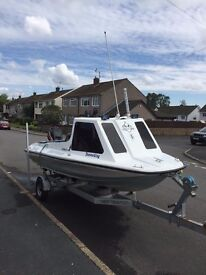Boat Fast Fisher 15ft 40hp Mercury & Trailer