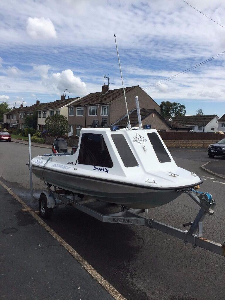 Boat Fast Fisher 15ft 40hp Mercury & Trailer