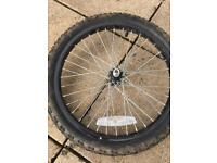 Kids 18 x 1.75 front bicycle wheel