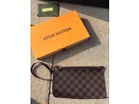 Louis Vuitton Clutch Bag Damier Designer Women's Handbag Neverfull Speedy Make Up Purse Wallet