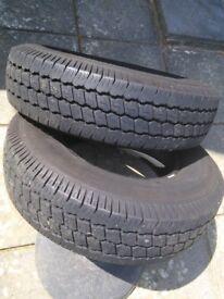 Tyres. 185 R140 8 PR.