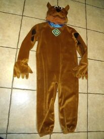 ** World Book Day 2 March ** Scooby Doo Costume 4-6 years Lovely condition