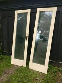 Hardwood Patio Doors - Double Glazed Pair