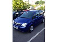 """2005 Vauxhall Meriva 1.4 16V """"Breeze"""" 5 door MPV"""