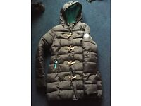 Superdry puffer coat size large