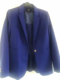 Blue blazer size 12