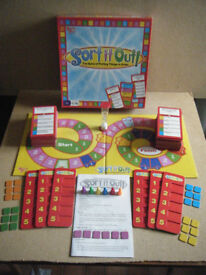 SORT IT OUT, putting things in order board game. By University games 2008. Complete