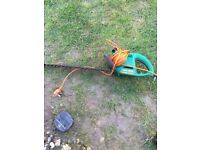 Black and decker electric hedge trimmer cutter
