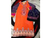Pakistani Indian Asian clothes stitched suits