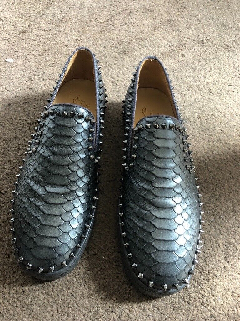 new products f2ddd b8754 Christian louboutin Snake skin Sneakers   in Stretford, Manchester   Gumtree