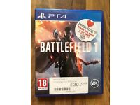 Battlefield 1 , Ps4 , as new ! Price stands , no offers !