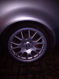 "4 Audi Motorsport 18"" Wheels & Tyres. 5x112 will fit Audi, BMW, Mercedes, Volkswagen"