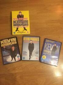 3 x DVDs Kevin bridges £6