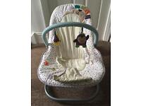 Mamas and Papas vibrating timbuktales baby chair