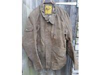 roland sands wax jacket xl