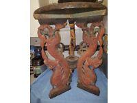 Antique Dragon Table