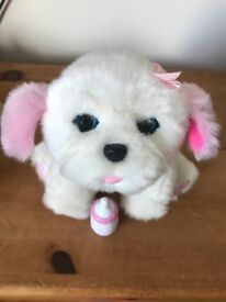 Little Live Pets Puppy Tiara Interactive Toy - Excellent Condition