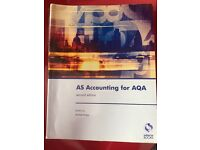 AS Accounting for AQA book (second edition)