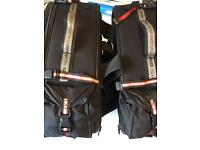 Honda NC compatible soft panniers with rack
