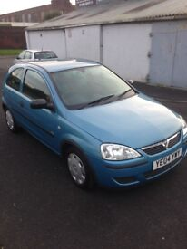 Vauxhall corsa low Millege full service history
