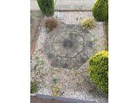 Octagonal patio