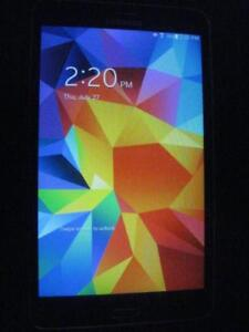 """Samsung Galaxy Tab 4. 8GB. Touch Screen HD Tablet. 7"""" Stunning Display Wifi. Quad Core. Dual Camera. Android. Bluetooth."""