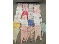 Girls baby grows 3-6 months