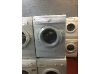 nice white amica washing machine it's s 6kg 1000 spin in excellent condition in full working order