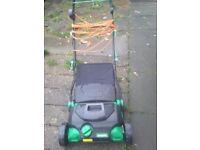 Garden line rake & scarifier