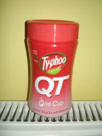 Typhoo QT Instant White Tea Brand New x 6