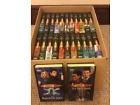 Set of 24 Dr Who books (also 2 other books stickers & posters- see 2nd photo)