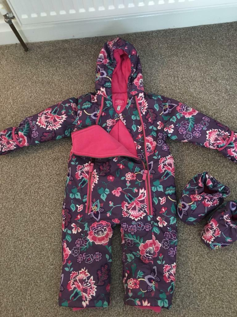 Joules (girls) snowsuit
