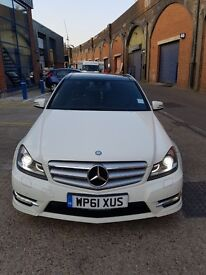 Mercedes C class with low milege