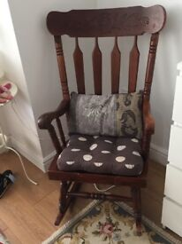 Rocking chair (vintage)