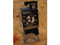 Unisex Gore Countdown Socks. Grey & White, or Black & White. 1 Pair. Size Small