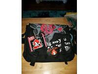 Ruby Gloom bag and wallet