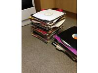 Records (drum and bass, jungle, techno, hard house and trance