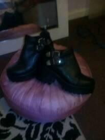 Womens black boots