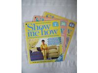 3 vintage 1984/5 'Show Me How' magazines (DIY, craft, etc)-curtains,lampshades maintenance.£2.50 lot