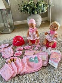BABY BORN AND BABY ANNABELL COLLECTION