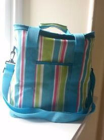 Cool bag / picnic bag with 6 ice packs