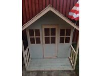 Lovely wooden playhouse